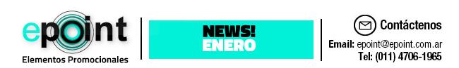 Epoint Elementos Promocionales - Newsletter Enero